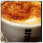 Photo taken at Aroma Espresso by Phil F. on 12/9/2012