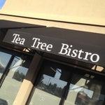 Photo taken at Tea Tree Asian Bistro by Jeff S. on 9/28/2013