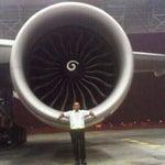 Photo taken at GMF AeroAsia by Alexander F. on 9/5/2014