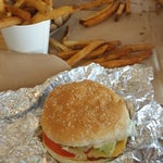 Photo taken at Five Guys by Mohe A. on 5/29/2014