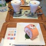 Photo taken at nana's green tea 東京スカイツリータウンソラマチ店 by Hitomi K. on 4/9/2015