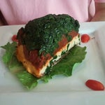 Photo taken at Karyn's Raw Conscious Comfort Food by Shilan A. on 7/15/2012