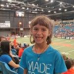 Photo taken at Hartman Arena by Matthew B. on 6/7/2014