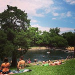 Photo taken at Barton Springs Pool by Kevin T. on 5/27/2013