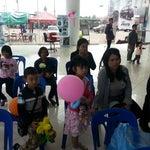 Photo taken at Honda Sakhon Nakorn by akasit p. on 1/12/2013