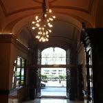 Photo taken at Hotel Acta Atrium Palace by Cris on 4/15/2013