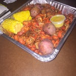 Photo taken at Shane's Seafood And Barbq by Jess on 3/28/2015