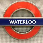 Photo taken at Waterloo London Underground Station by Alan B. on 2/2/2013