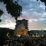 Photo taken at วัดพระราม ๙ กาญจนาภิเษก (Rama IX Golden Jubilee Temple) by Pakorn P. on 3/7/2012