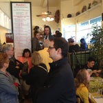 Photo taken at Mama's On Washington Square by Marquis K. on 5/27/2012