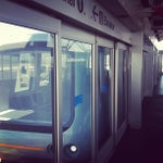 Photo taken at SFO AirTrain by Kris F. on 5/12/2012