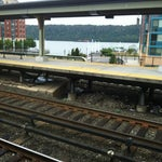 Photo taken at Yonkers Train Station - Metro North & Amtrak by Omi L. on 9/3/2012