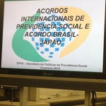Photo taken at ブラジル連邦共和国総領事館 (Consulate-General of the Federative Republic of Brazil) by Roberto M. on 2/22/2012