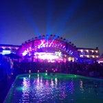 Photo taken at Ushuaïa Ibiza Beach Hotel by Marina B. on 6/15/2012