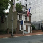 Photo taken at Betsy Ross House by Mandy L. on 6/17/2012