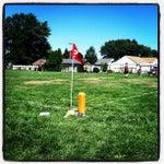 Photo taken at Grover Cleveland School by Matt W. on 8/18/2012