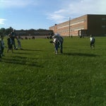 Photo taken at Grover Cleveland School by Edwina L. on 9/17/2011