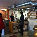Photo taken at Kaffecentralen by Yonatan K. on 11/16/2011