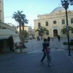 Photo taken at Agiou Titou Square by Pavlos E. on 3/18/2012
