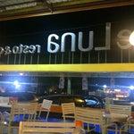 Photo taken at de Luna Resto & Café by andi a. on 8/2/2012