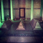 Photo taken at Saadian Tombs | قبور السعديين by Diana R. on 8/20/2012