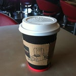Photo taken at Aroma Espresso by Jocelyn L. on 5/4/2012