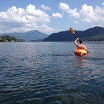 Photo taken at Lake Placid Marina by Lindsay A. on 8/26/2012