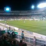 Photo taken at Estadio Manuel Martínez Valero by Alex R. on 8/19/2012