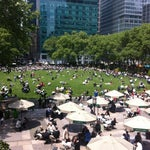 Photo taken at Bryant Park Grill by Romy S. on 5/11/2012