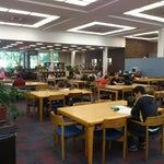 Photo taken at Kilmer Library by Pedro Henrique P. on 9/12/2012