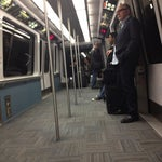 Photo taken at SFO AirTrain by Chris R. on 3/6/2012