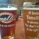 Photo taken at Tonelli's Pizza Pub by Damian C. on 6/3/2012