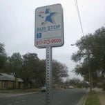 Photo taken at Bus Stop #7 [St. Andrew School to TCU] by Shain T. on 2/8/2012
