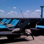 Photo taken at Carnival Legend Serenity Deck! Adults Only by Michelle J. on 5/20/2012