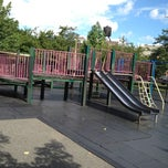 Photo taken at Vincent B. Abate Playground by Justin M. on 7/21/2012