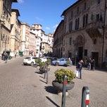 Photo taken at Piazza Giacomo Matteotti by Lorenzo L. on 2/27/2012