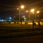Photo taken at Alun-Alun Kota Serang by Dicky Z. on 2/14/2012