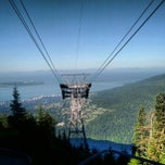 Photo taken at Grouse Gondola by Owen C. on 8/4/2012