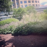 Photo taken at Prudential Center Courtyard & Garden by Jessica on 6/28/2012