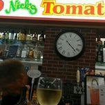Photo taken at Nick's Tomatoe Pie by Diane C. on 5/4/2012