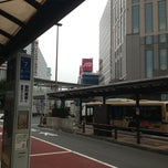 Photo taken at 横浜駅西口 バスターミナル by Nao on 9/13/2013