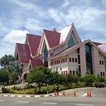 Photo taken at Pejabat Ketua Menteri Melaka by Uzaidi U. on 11/7/2012