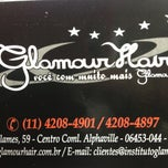 Photo taken at Glamour Hair by Paula C. on 4/19/2013