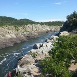 Photo taken at Great Falls Park by Andrew G. on 8/10/2013