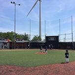 Photo taken at The Yard @ Cal Ripken Baseball Field by Dennis Y. on 6/28/2014