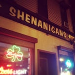 Photo taken at Shenanigans Pub by Geoff G. on 8/4/2013