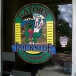 Photo taken at Gator's Dockside by Bill H. on 9/30/2012