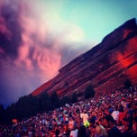 Photo taken at Red Rocks Park & Amphitheatre by Virginia S. on 7/6/2013