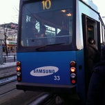 Photo taken at HSL Raitiolinja 10 / Tram 10 by Pirkko M. on 3/15/2013