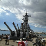 Photo taken at USS Missouri Checkpoint by MiCHAEL R. on 1/18/2013